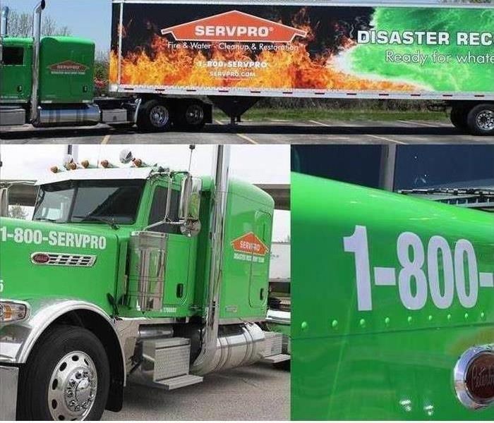 SERVPRO fleet collage